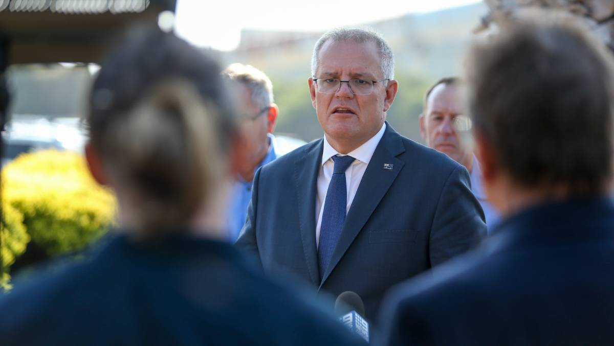 Prime Minister Scott Morrison will meet again with national cabinet today. Picture: Chris Doheny