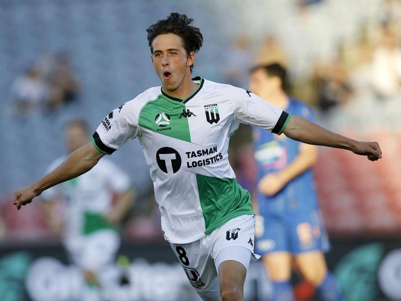 Lachlan Wales earned Western United a 1-1 draw with Wellington Phoenix with a 27th-minute equaliser.