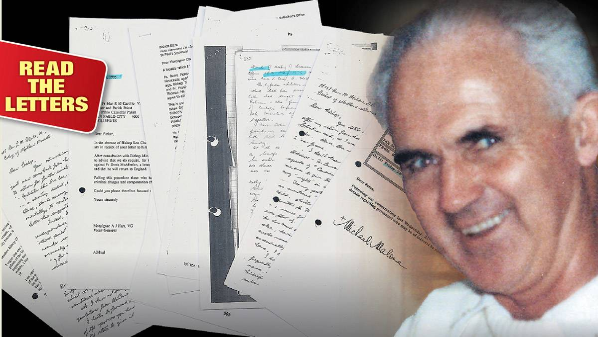 Letters reveal Church's knowledge of paedophile priest's behaviour